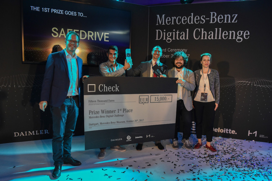 Winners Mercedes-Benz Digital Challenge