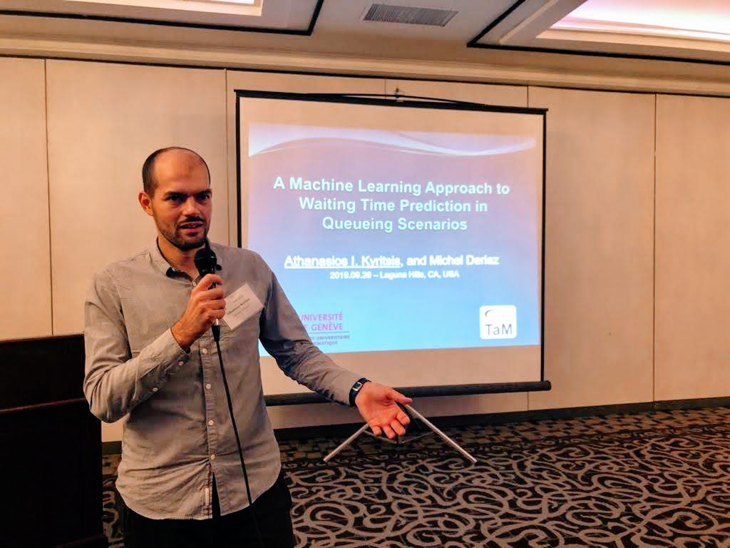 Athanasios Kyritsis attended the ai4i 2019 conference