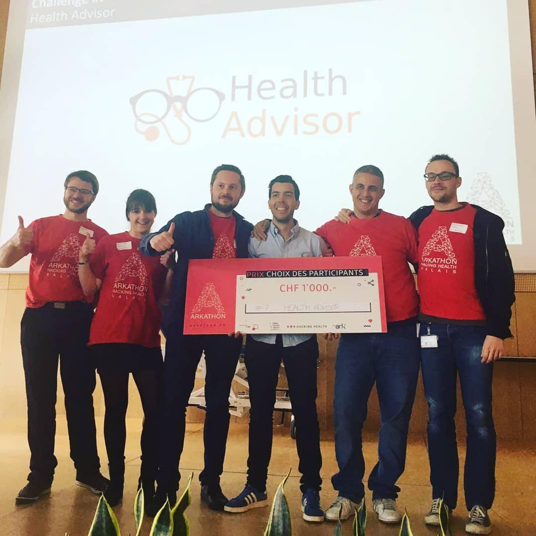 Public Choice Award at Hospital of Sion Hackathon
